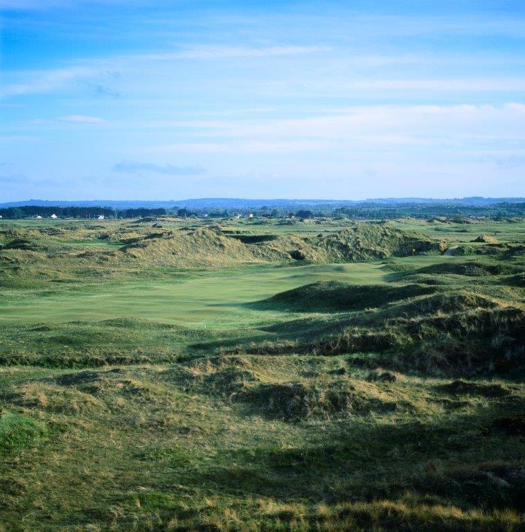 Campo de golf de Country Louth en Irlanda