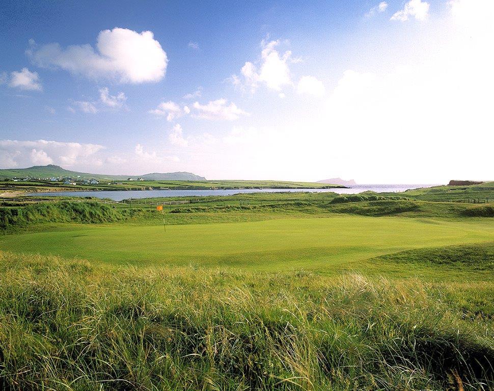 Campo de golf de Dingle en Irlanda
