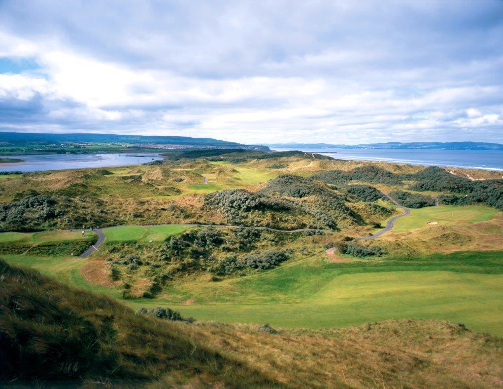 Campo de golf de Portsterwart  'Mussenden' en Irlanda
