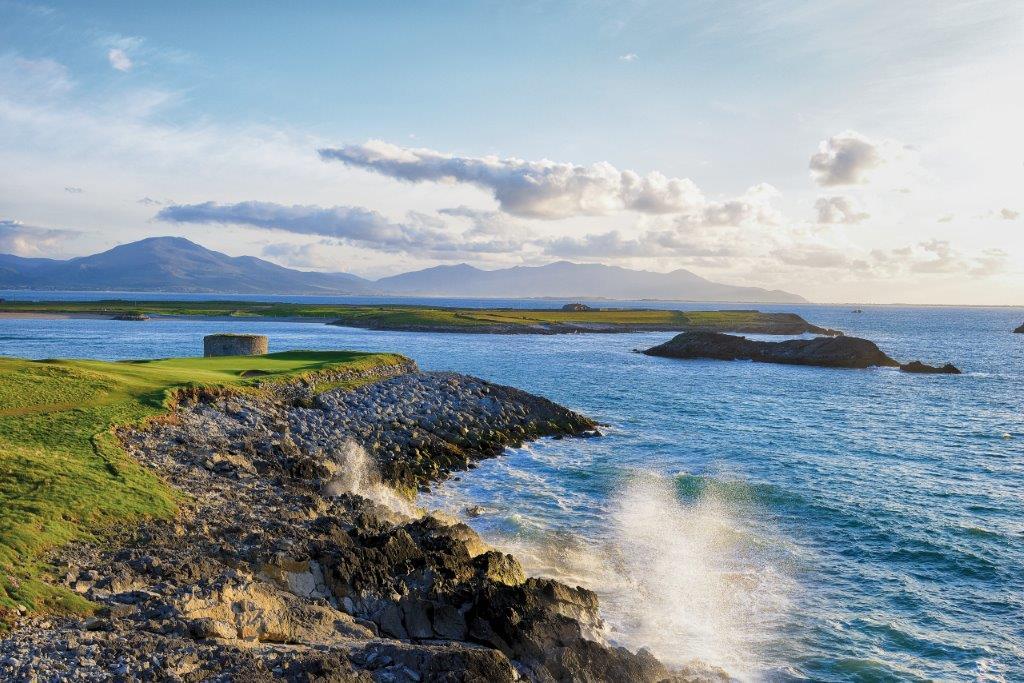 Campo de golf de Tralee en Irlanda