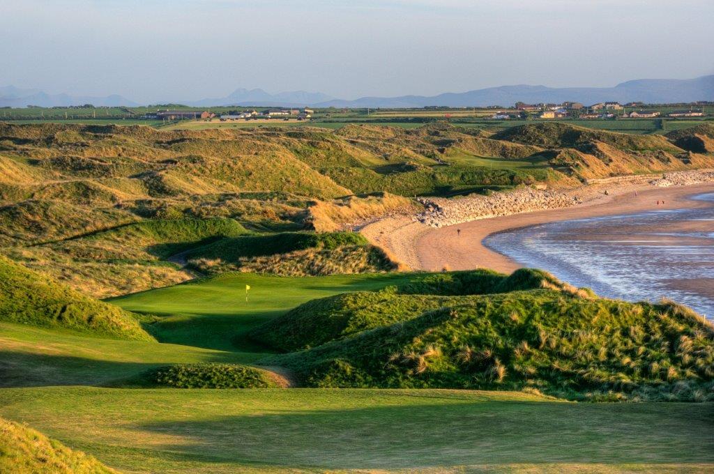 Campo de golf de Bally bunion 'Cashen' en Escocia
