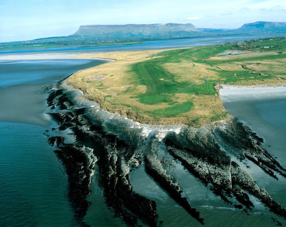 Campo de golf de County Sligo en Irlanda