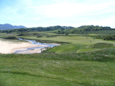 Campo de golf de Portsalon en Irlanda