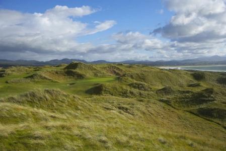 Campo de golf de Rosapenna en Irlanda