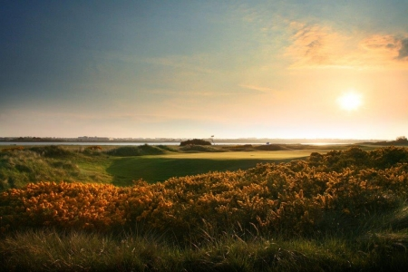 Campo de golf de Portmarnock en Irlanda