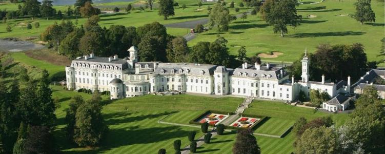 Hotel K Club en el campo de golf K Club en Irlanda