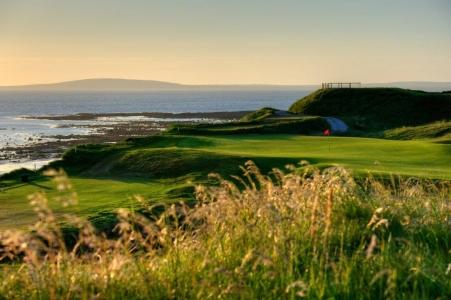 Green en el campo de golf Ballybunion 'Cashen' en Irlanda
