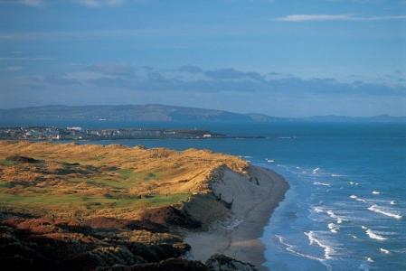 Campo de golf de Royal Portrush 'Dunluce' en Irlanda