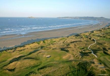 Campo de golf de Pormanock en Irlanda