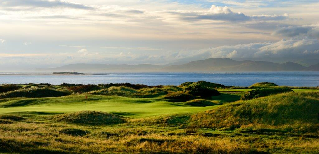 Campo de golf de Dooks en Irlanda