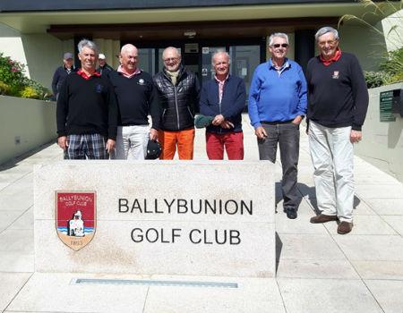 Ambiente excelente y muy buena organización. Golf en Irlanda
