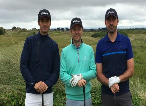 Un excelente fin de semana. Golf en Irlanda