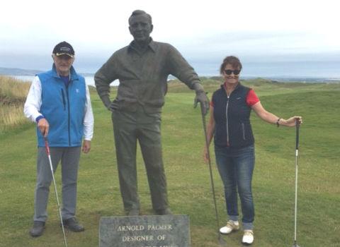 Ha sido una estancia excelente. Golf en Irlanda